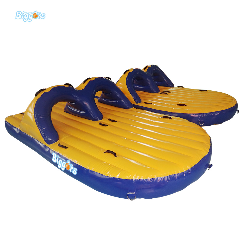 En14960 Certificated Lake Air Inflataed Water Play Game Giant Inflatable Floating Water Game lake or ocean inflatable funny water sports game water trampoline with air pump and repair kit