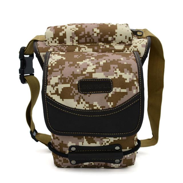 Men Outdoor Portable Drop Leg Bag Waist Fanny Pack Belt Hip Military Travel Motorcycle Multifunctional Messenger Shoulder Bags
