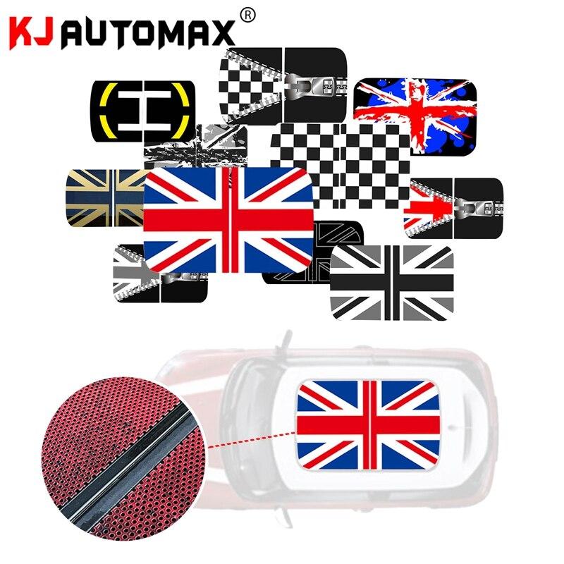 Style de voiture Pour Mini Cooper vinyle perforé Toit Ouvrant autocollant sticker R50 R53 R55 R56 R60 R61 F54 F55 F56 F60 Accessoires