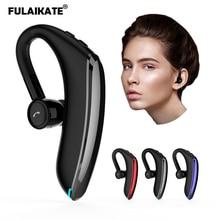 FLAIKATE Ear Hook Wireless Earphone for Smart Phone Bluetooth V5.0 Headset Stereo Name of Incoming Telegram Music Earpiece