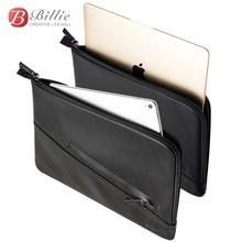 Pokrowiec etui na laptopa torba na nowy Macbook Pro 13 cal przypadku prawdziwej skóry skrzynka dla macbook 13 A1706/A1708 Notebook pokrywa laptopa