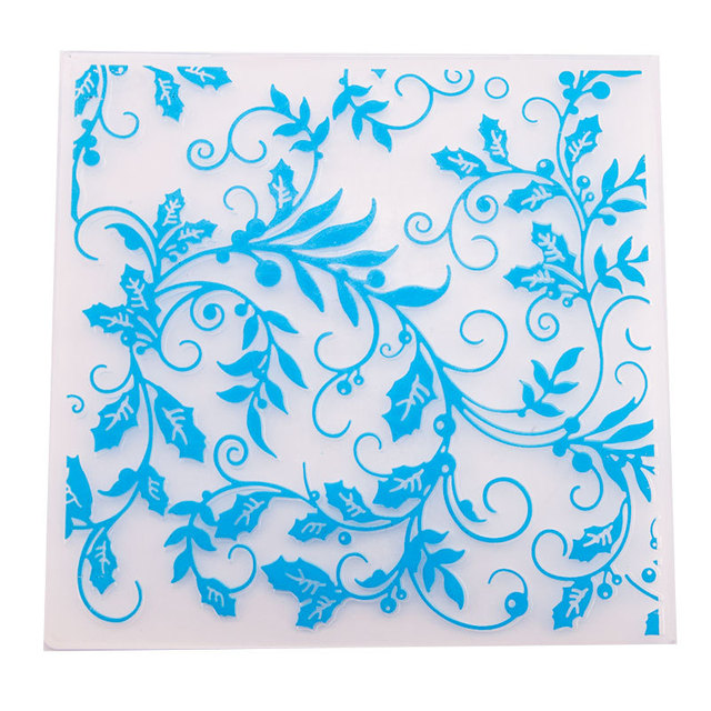 Leaves Embossing Folder for Card Making Floral DIY Plastic Scrapbooking Photo Album Card Paper DIY Craft Decoration Template