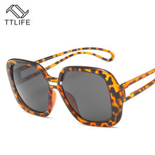 TTLIFE Oversized Sunglasses Women Elegant Brand Designer Fashion Sun Glasses Female Driving Outdoor Oculos De Sol Gafas YJHH0177