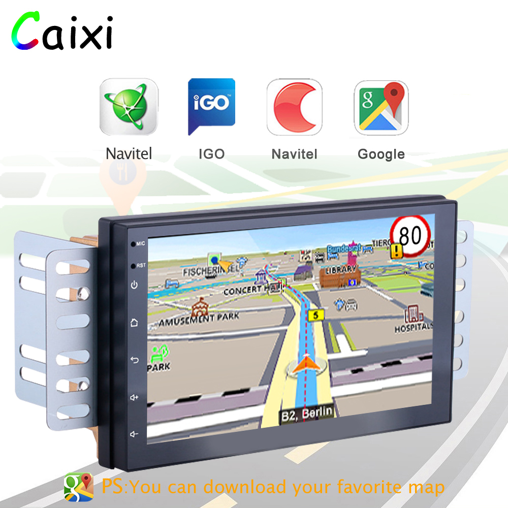 Image 3 - 2 Din Android 8.1 Car Radio Multimedia  For Nissan Volkswagen TOYOTA Honda KIA Hyundai  mazda Universal auto Stereo GPS MAP-in Car Multimedia Player from Automobiles & Motorcycles