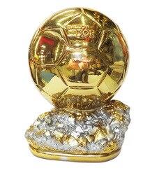 جديد أكواب الكأس لكرة القدم لاعب لسنة 19 سنتيمتر 1.2 كيلوجرام العالم مشجعي بطل الذهبية الذهبي الجوائز بالون تذكارية