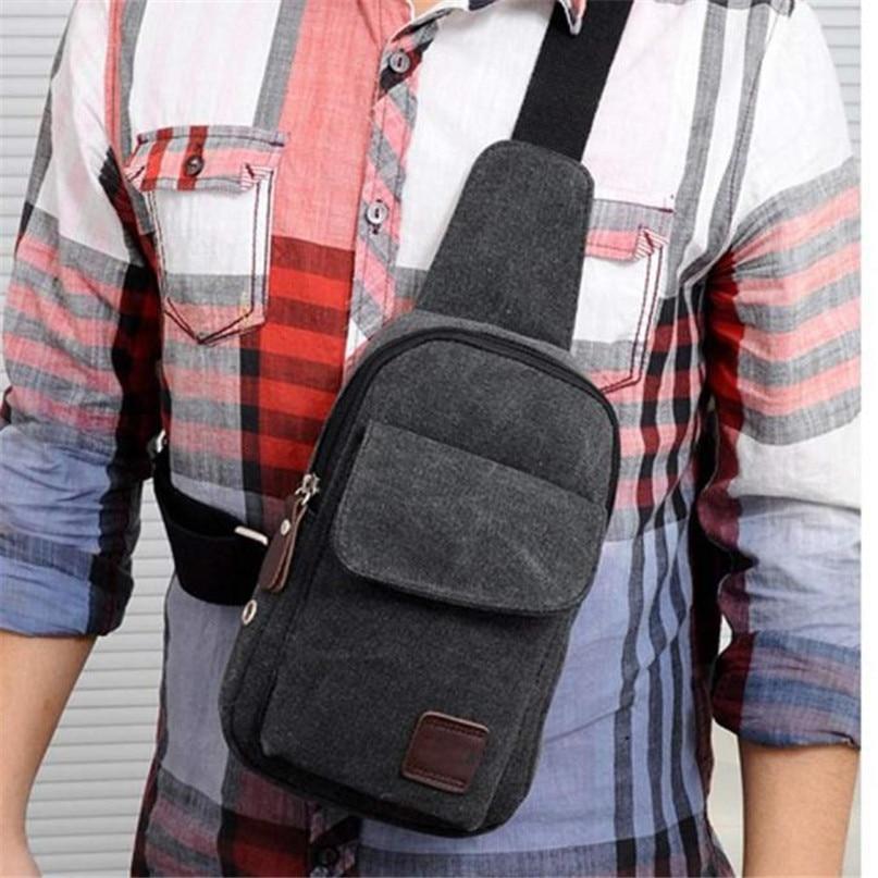 Multifunction Diagonal shoulder chest bag sports bag Men Outdoor Sport Leg Bag Canvas Waist Bag Money Belt Fanny Pack #2a (9)