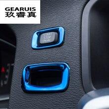 Capas decorativas para botões de partida, motor de partida, acessórios automotivos