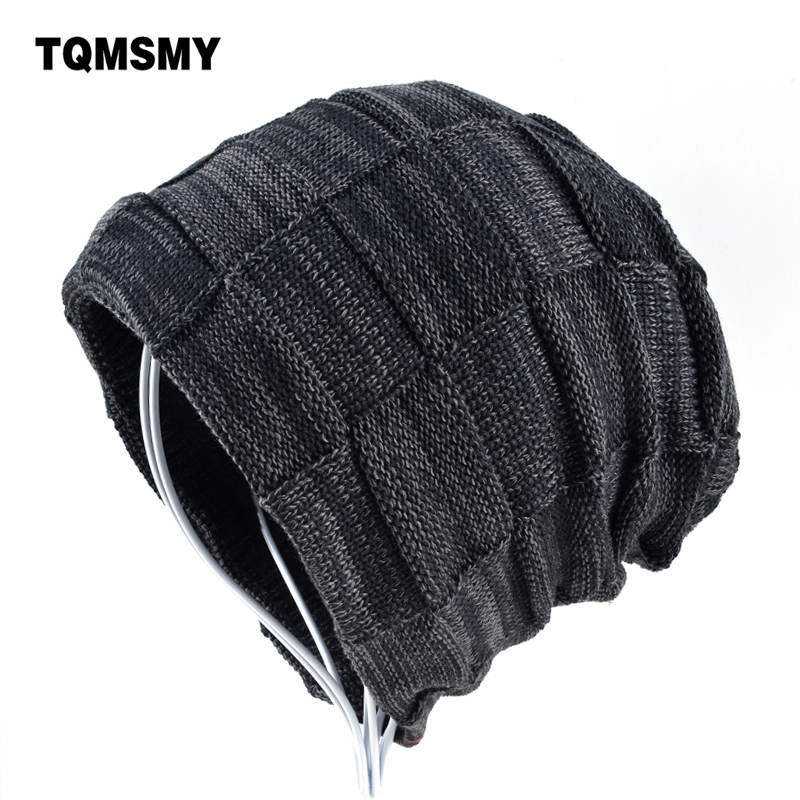 Classic Men skullies Winter hat women beanies Knitted wool hat Men's Hats keep warm Gorros Hip-Hop cap bone Women's Winter Hat new gorros 2017 fashion casual men skullies beanies winter hats keep warm women knitted stripe hat warm baggy balaclava caps