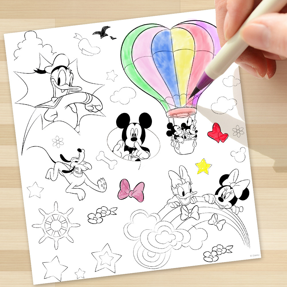 Disney Kids Sticker Mickey Mouse Minnie Children Puzzle Handmade Stickers Book Cartoon Pegatinas Autocollant Enfant In From Toys Hobbies