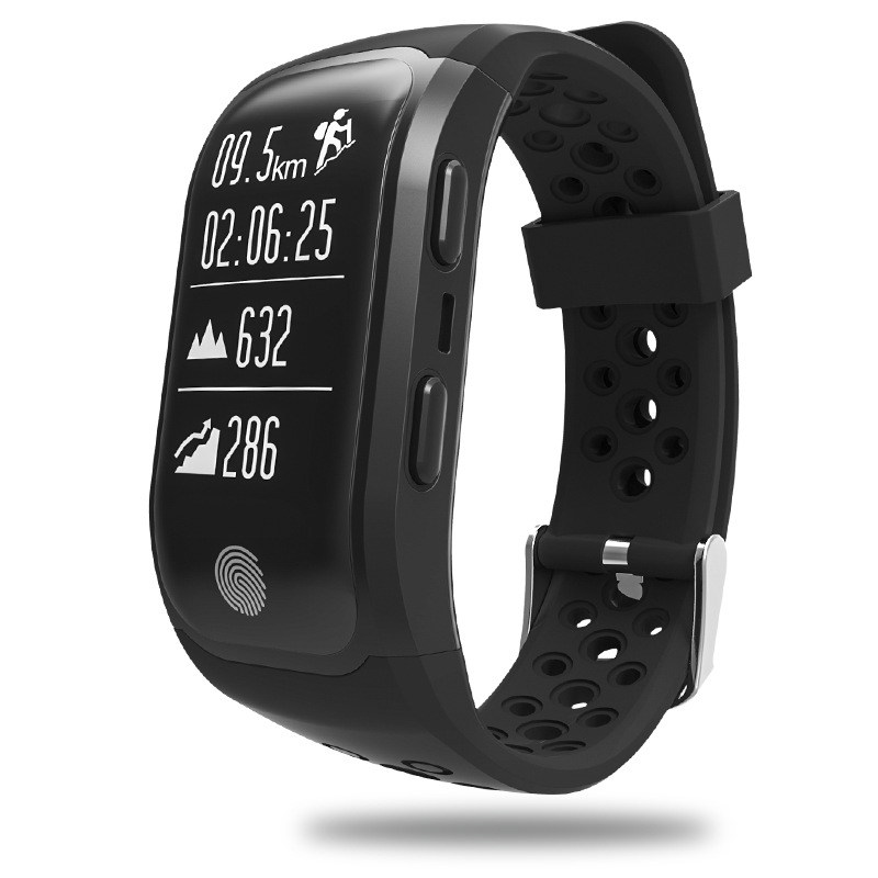 GPS smart bracelet watch sport wristband fitness tracker heart rate step counter waterproof smart band for men women alarm clock ttlife men gps locator s958 smart watch waterproof women watches fitness tracker call reminder smart bracelet relogio masculino