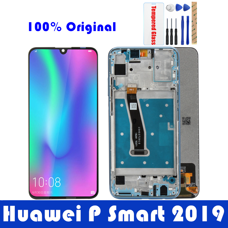 Original Huawei P Smart 2019 LCD Display WITH Frame 10 Touch Screen For Huawei P Smart