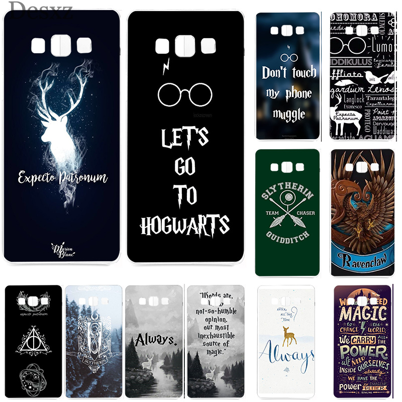 Phone Case Cover <font><b>HarryPotter</b></font> Dynamic For Samsung A3 A5 A6 A8 Plus 2015 2016 2017 2018 Cases image