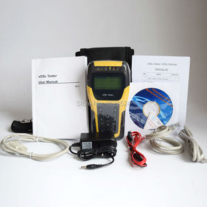 Image 5 - DHL Free Shipping ST332B Basic VDSL VDSL2 Tester for xDSL Line test and Maintenance Tools (ADSL/ADSL2/ADSL2+/VDSL2 /READSL)