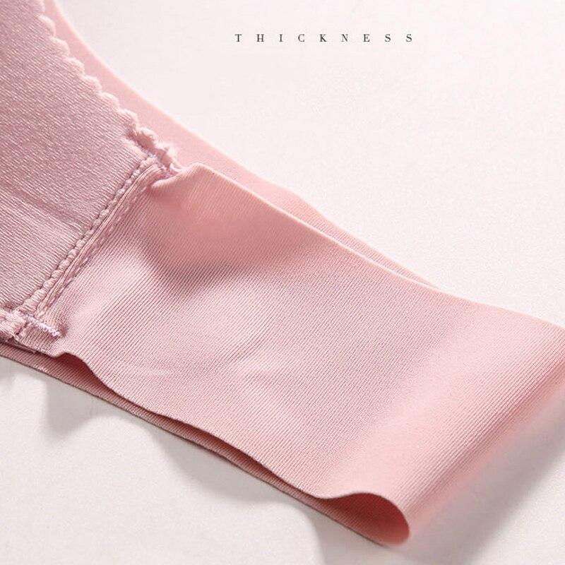 Seamless Bras For Women Sexy Push Up Lingerie Plus Size Sleeping Bra XL Wireless Bralette Brassiere Underwear #D 6