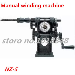NZ-5 Manual Winding Machine dual-purpose Hand Coil counting winding machine Winder Freeshipping by EXPRESS цена