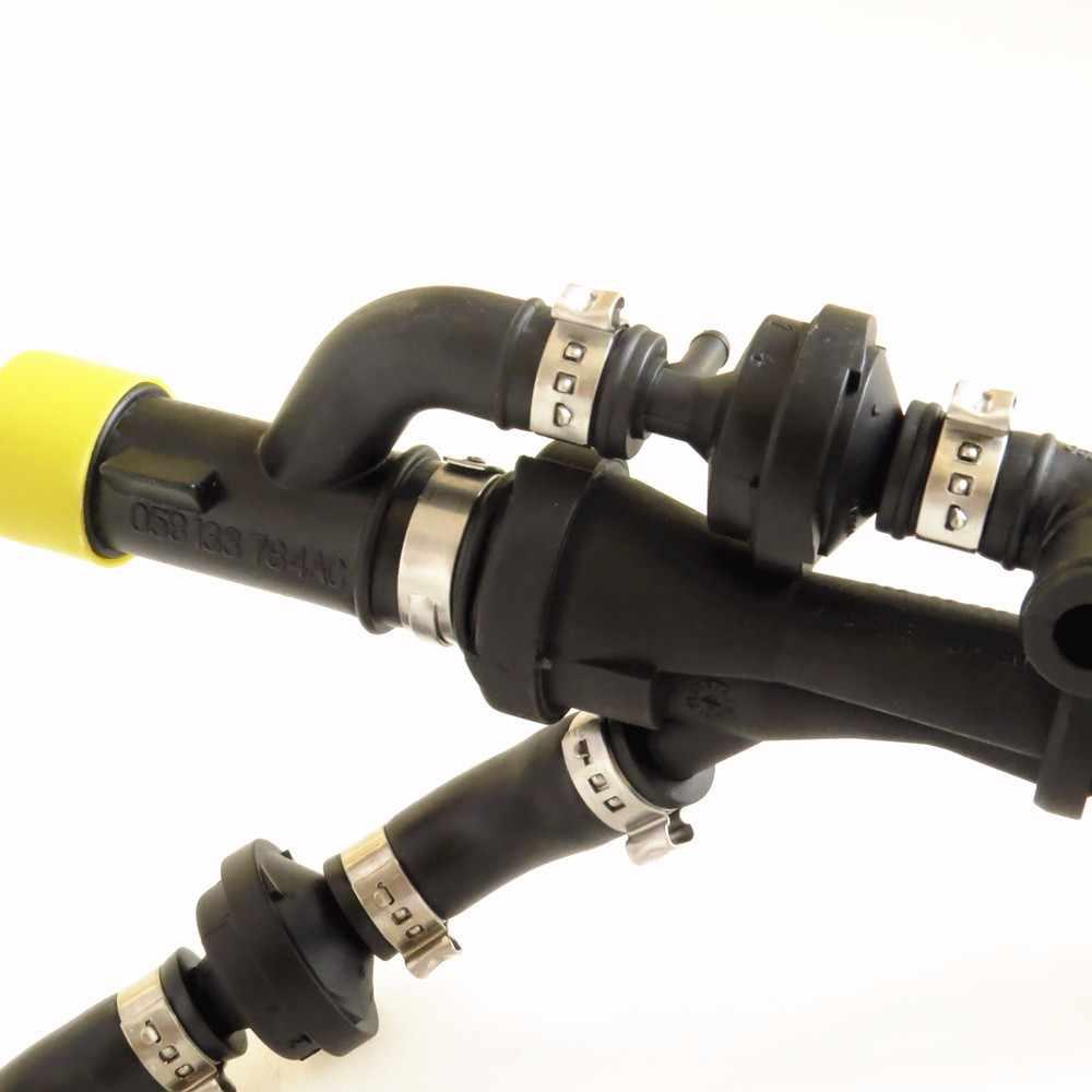 TUKE OEM 058133784AF выхлопная труба вакуумная трубка в сборе для 1,8 T A4 A6 VW Passat B5 Seat Exeo 07C 133 529A 058 133 394