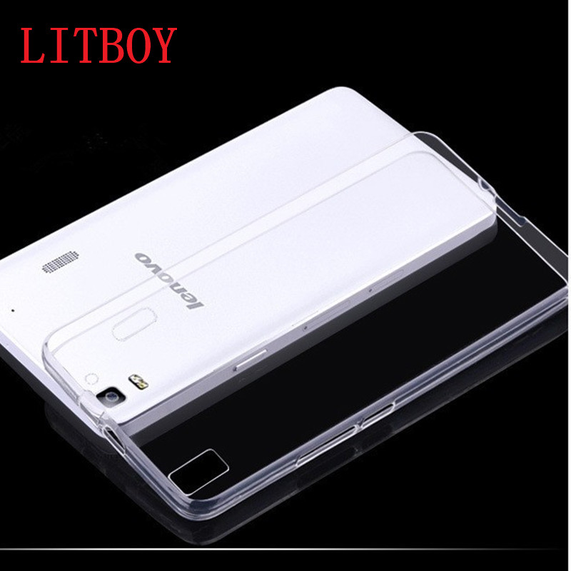 Silicone Clear Transparent Crystal TPU Soft Phone Cover Case Shell For Lenovo A2020 K3 K5 K6 NOTE P1 S90 A6000 A7000 Case