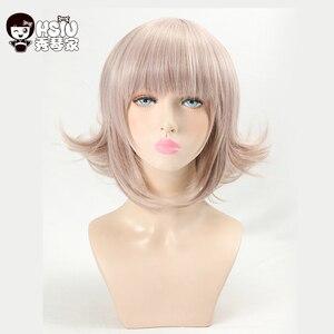 Image 2 - HSIU Super peluca DanganRonpa, disfraz de Chiaki Nanami, Cosplay de mujer adulta, Cosplay de Anime para Halloween, pelo, envío gratis