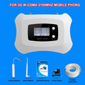 LCD display 2100mhz Mini Smart 3G mobile signal booster 3G repeater WCDMA cellular signal amplifer 3G cell phone signal booster