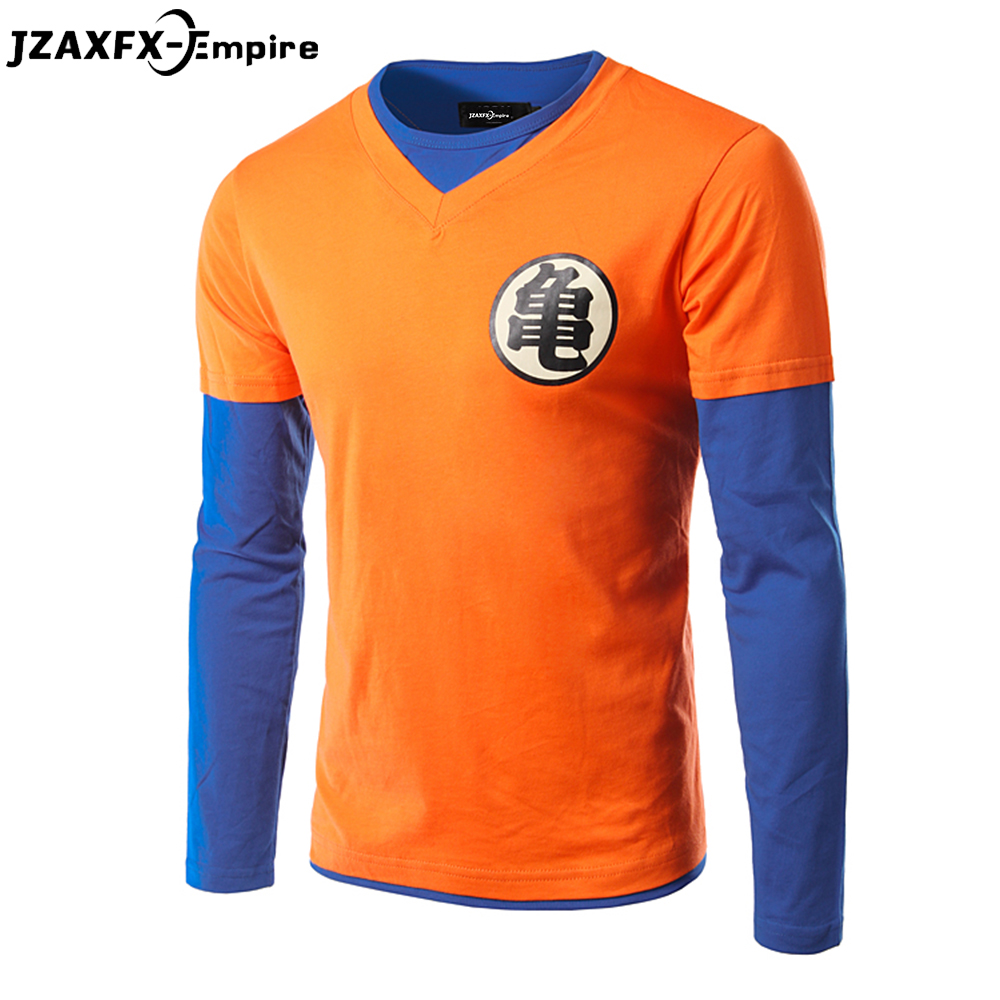 New arrival men fashion dragon ball ball long sleeve t for Good quality long sleeve t shirts