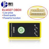 OBD2 Için Mini ELM327 Anahtarı bluetooth OBDII ELM 327 Android/windows Araç Tarayıcı Otomatik Teşhis Aracı yüksekliği kaliteli VC004-A