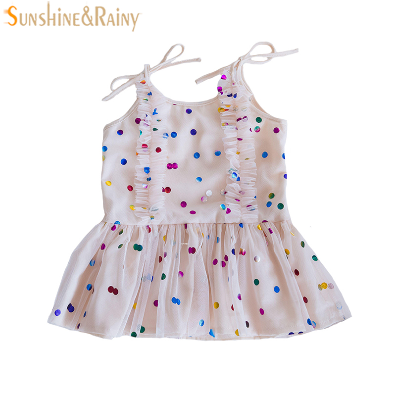 Baby Girls Dress Brand Summer Sequin Princess Tutu Dress Birthday Dresses For Party Wedding Infant Christmas Dress