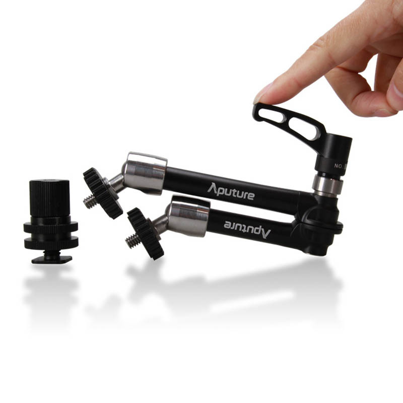 New Aputure A10 10 Pro Multi-function Articulating Magic Arm for LED Video Light DSLR Camera Microphone Mount LCD Field Monitor