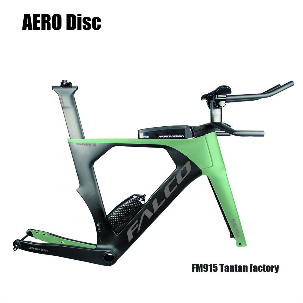 SEAPH Factory OEM FALCO Bike 2019 AERO Carbon Triathlon Bike  Carbon Tt Frame  Tapper Tube Carbon Time Trial Bicycle Frame