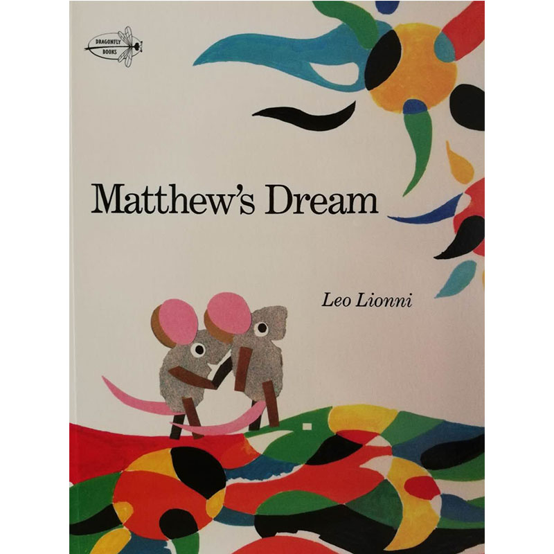 Matthew's Dream By Leo Lionni Educational English Picture Book Learning Card Story Book For Baby Kids Children Gifts