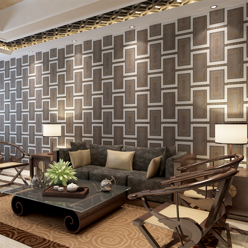 ФОТО Modern Deep Embossed Wallpaper for Walls Waterproof PVC Home Decor WALL PAPER for Bathroom Kitchen QZ0340 papel de parede