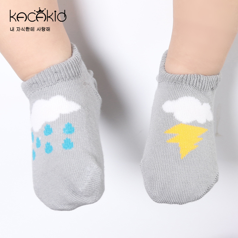New Spring And Autumn Baby Socks Newborn Boys Girls Cute Toddler Anti-slip Socks Cartoon Unisex Cotton Socks 2 Colors цены онлайн