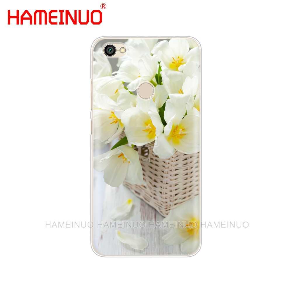 HAMEINUO السحلية الزهور الملونة غطاء الهاتف حالة ل Xiaomi redmi 5 4 1 1 ثانية 2 3 3 ثانية برو زائد redmi note 4 4X 4A 5A