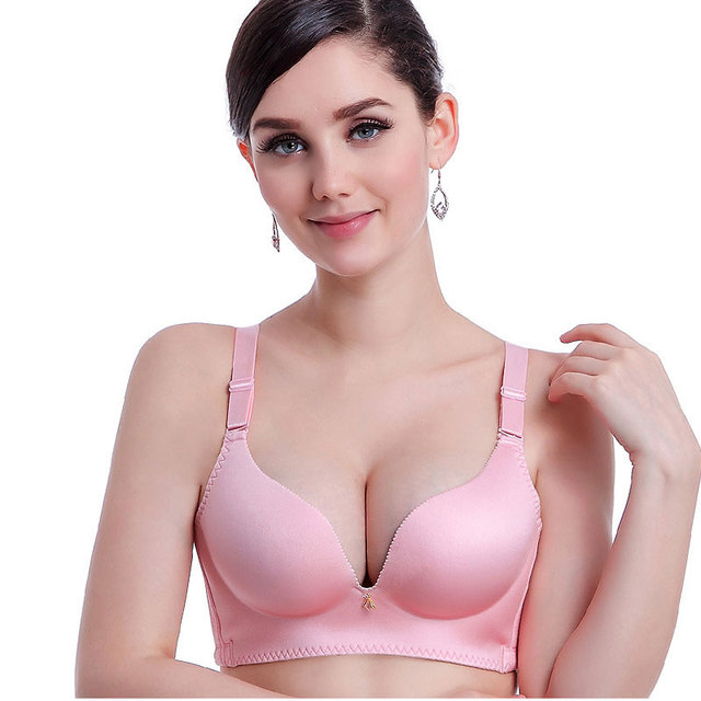 7808a10ad2c61 Hot Sexy Woman Seamless One-piece Bra Push Up Bras Top B C Cup Women  Underwear