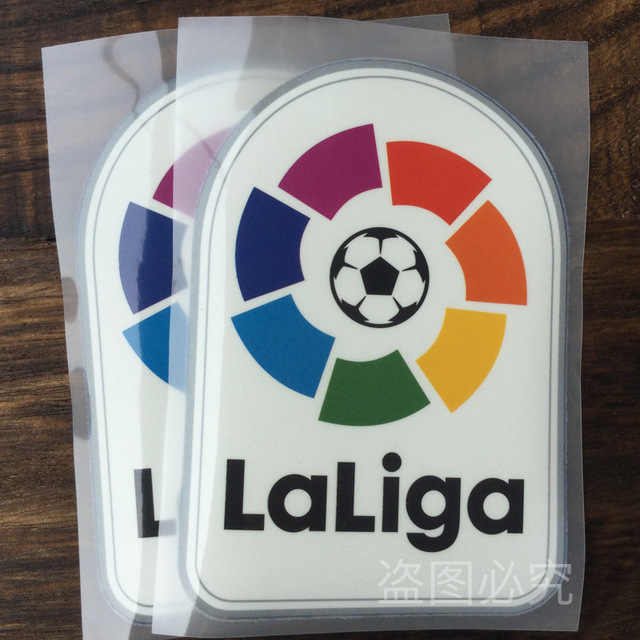 2146e68730c LaLiga patch 2016 European Cup champion Patches Soccer patch jersey Badge  10 pcs a lot