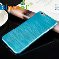 HL 2017 NEW Fashion Soft Luxury  1PC Ultra Thin Brushed Case PC Hard Back Cover For iPhone 6 Plus 5.5 JA16