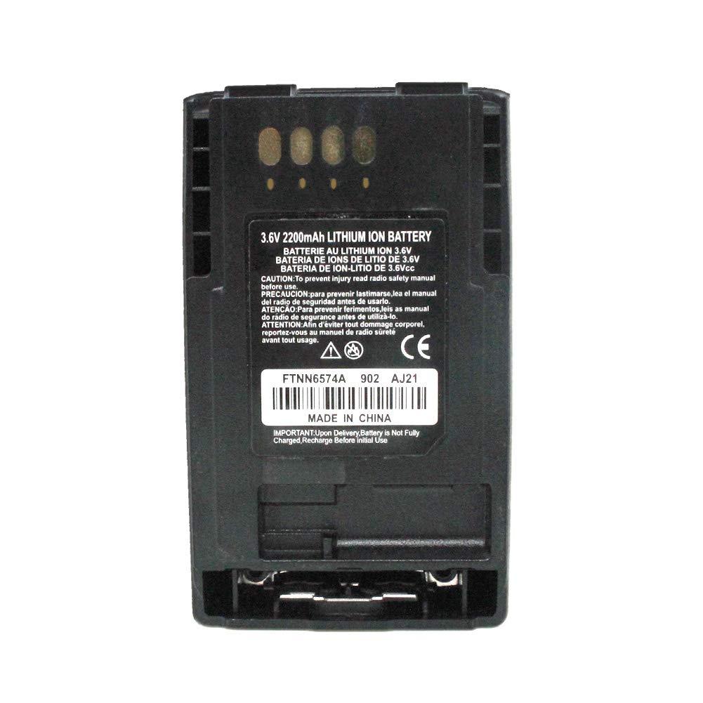 Battery For Motorola MTP850 CEP400 FTN6574 FTN6574A PMNN6074 AP-6574 2200mAh