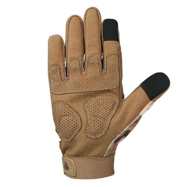 Motorcycle Gloves, Genuine Cowhide Leather