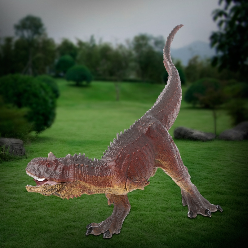 Carnotaurus Dinosaur Action Figure Toys Hand Puppet Kids Educational Model-m15 wiben animal hand puppet action