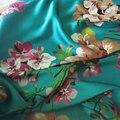100*150 cm, Macio Material Vestido de Noiva Crepe Tecido De Cetim Charmeuse Aquamarine Rosa Borgonha