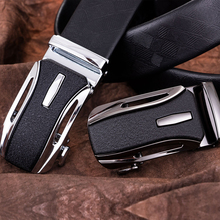 DiBanGu New Designer Man Belt Automatic Buckle Cowhide Leather Men Belt Fashion Luxury Belts Men Designer Belts Men Dropshipping