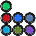 """Apoyo EE 2 """"52mm Azul Rojo 7 del Color LED Digital Medidor de Presión de Aceite Del Coche Tint Len Auto Pulse Meter Clock Venta XY01"""