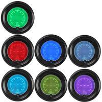 EE support 2 52mm Blue Red 7 Color Digital LED Tint Len Oil Pressure Gauge Car Auto Press Meter Clock Sale XY01