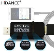 7 em 1 USB tester DC Digital voltímetro amperímetro medidor de corrente de tensão amp volt amperímetro detector indicador do carregador banco do poder