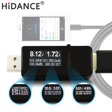 USB tester DC Voltmeter ammeter current voltage meters capacity monitor qc2.0/qc3.0 quick charger Battery Power Bank detector usb multi function tester usb current voltage charger detector battery tester voltmeter ammeter