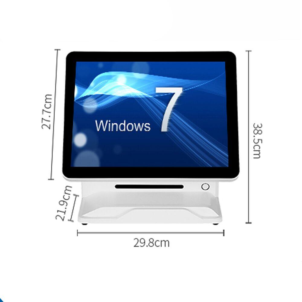 Günstige 15 zoll lcd kassen pos system alle in einem pc pos gerät touchscreen pos maschine - 6