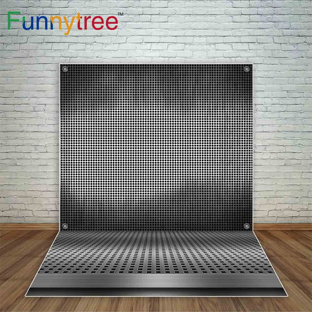 Funnytree background for photography 3d illustration metal grid dark grey steel lattice backdrops printing photo backgrounds ...
