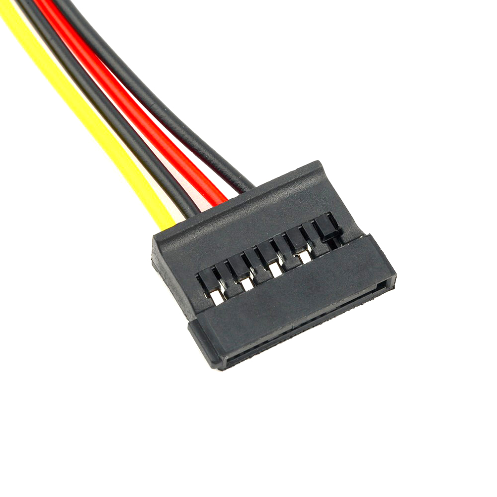Molex Wiring Harness 45 Drives Diagram Libraries 50pcs Lot 4 Pin Ide To 2 Of 15 Serial Ata Sata Hdd Power