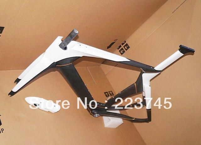 Frame size 54cm IN STOCK ! Carbon Time Trial Frame 2013 Carbon TT Frameset Favorable Sale Frame Fork Headset Stem Seatpost Clamp