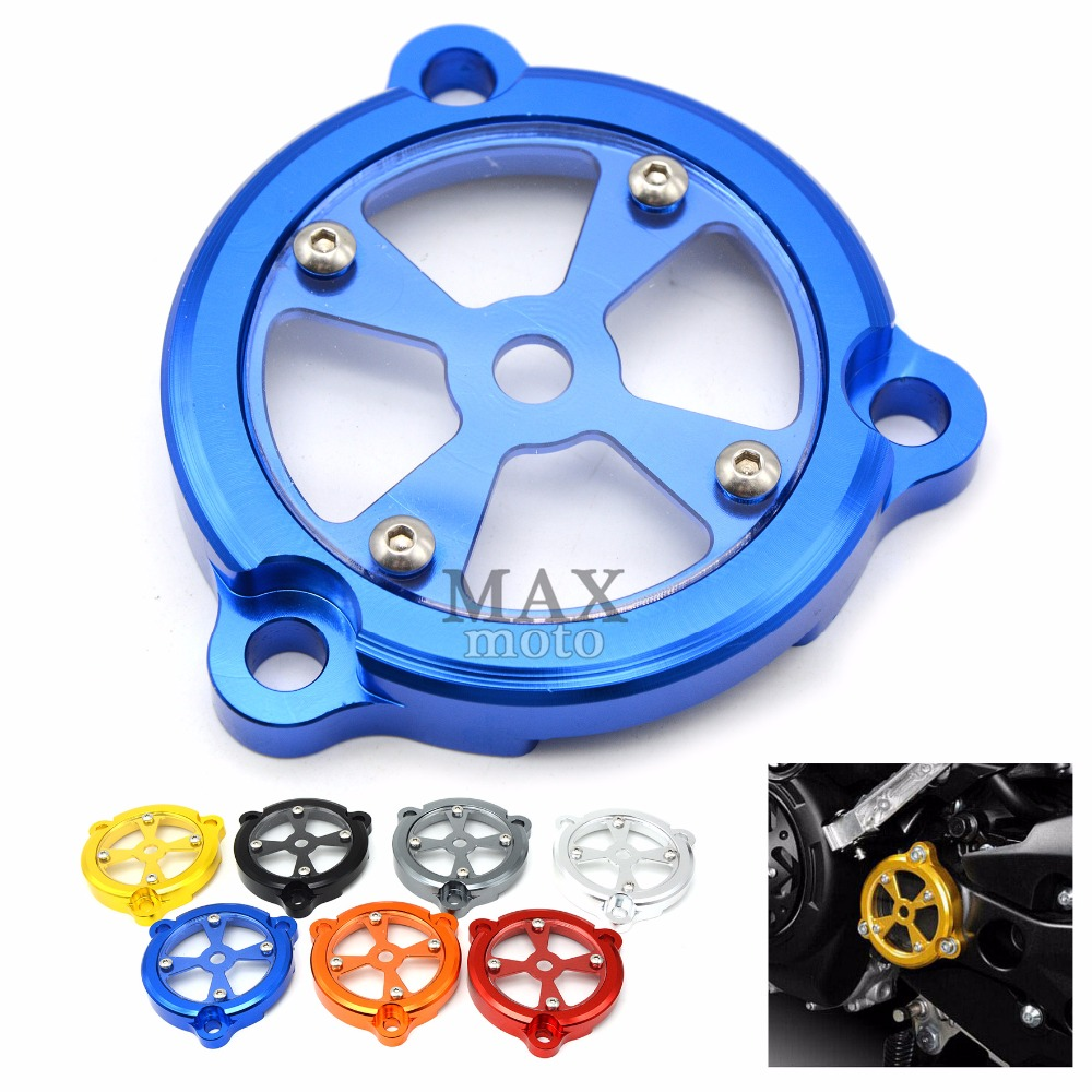blue aluminum Motorcycle Engine Stator Protective Cover set decoration for yamaha TMAX530 TMAX 530 T-MAX 530 2012 2013 2014 2015