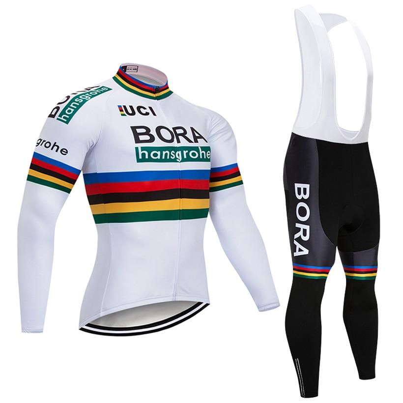 Зима 2018 команда bora Vélo 9D pad Штаны костюм Ropa Ciclismo мужские ветрозащитный Термальность флис велосипед Майо Culotte одежда